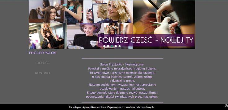 TO czeczego pragniesz jest własnie TU www.fryzjer-polski.com