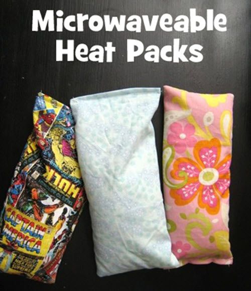 Microwavable Heat Packs | Microwavable heating pads are an unexpected treat when the weather turns brisk and are a great gift for anyone in your life!