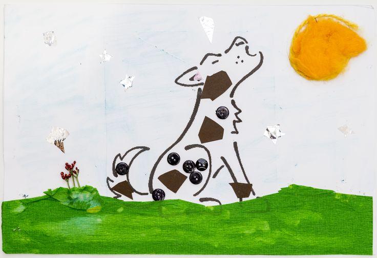 I disegni raccolti nell'ambito di LIFE WOLFALPS. Raccontano la percezione dei bambini riguardo al lupo:  simpatia, paura, curiosità nei confronti dell'animale protagonista di tante favole e leggende...  Disegno di: Martina
