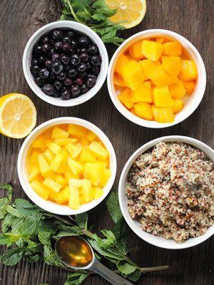 Quinoa Mixed Fruit Salad Recipe