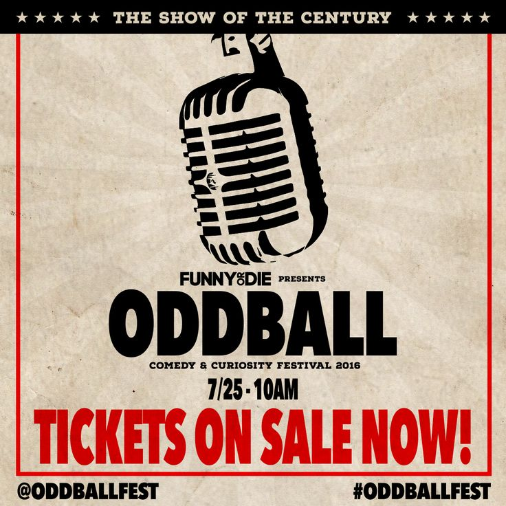 THE GLOVES ARE OFF! Tickets for @OddballFest go on sale TODAY @ 10am local time with host Jeff Ross featuring Tracy Morgan, Dane Cook, Sebastian Maniscalco, Gabriel Iglesias, AND SO MANY MORE! >> oddballfest.com/dates