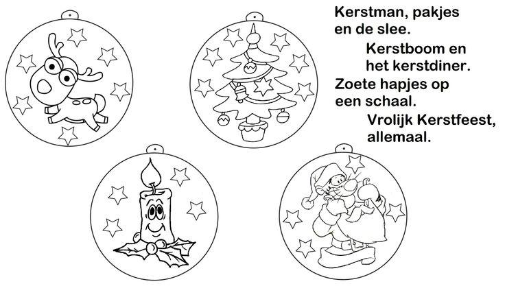 Placemat Kerstmis * groep 2