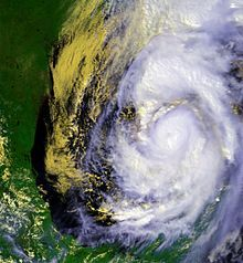 Hurricane Opal was a hurricane that formed in the Gulf of Mexico in September 1995. Opal was the ninth hurricane and the strongest of the abnormally active 1995 Atlantic hurricane season. It crossed the Yucatán Peninsula while still a tropical depression from September 27,[1] then strengthened northward in the Gulf, becoming the most powerful Category 4 Atlantic hurricane before making a second landfall, October 4, in the Florida Panhandle near Pensacola as a 115-mph