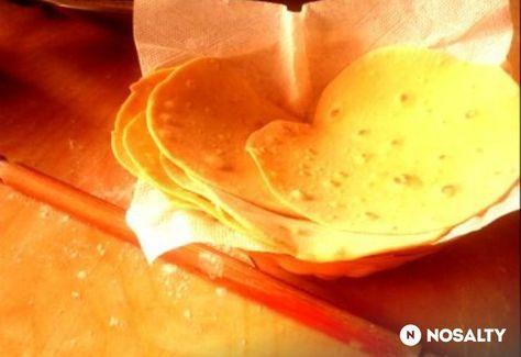 Bögrés házi tortilla lapok