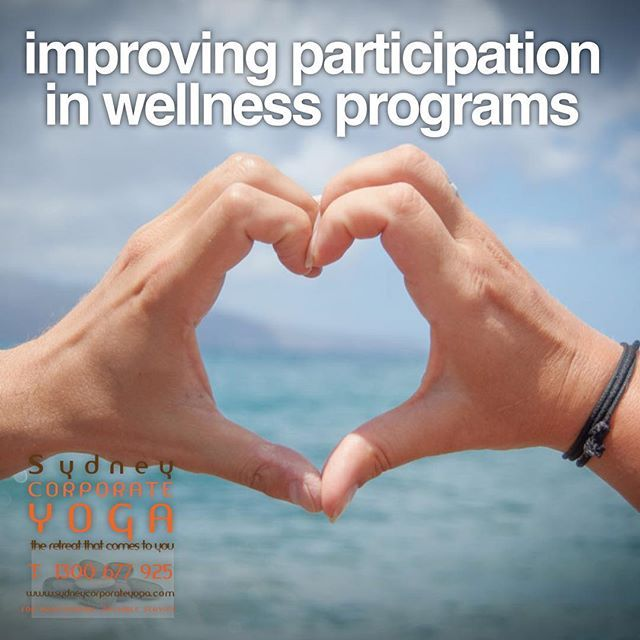 Improving Participation in Wellness Programs http://bit.ly/2BZBV7O