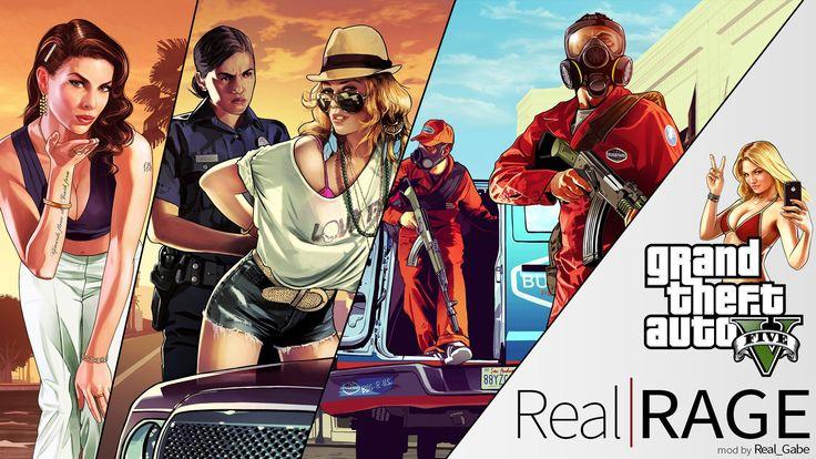 GTA V's Newest Gameplay Overhaul Mod