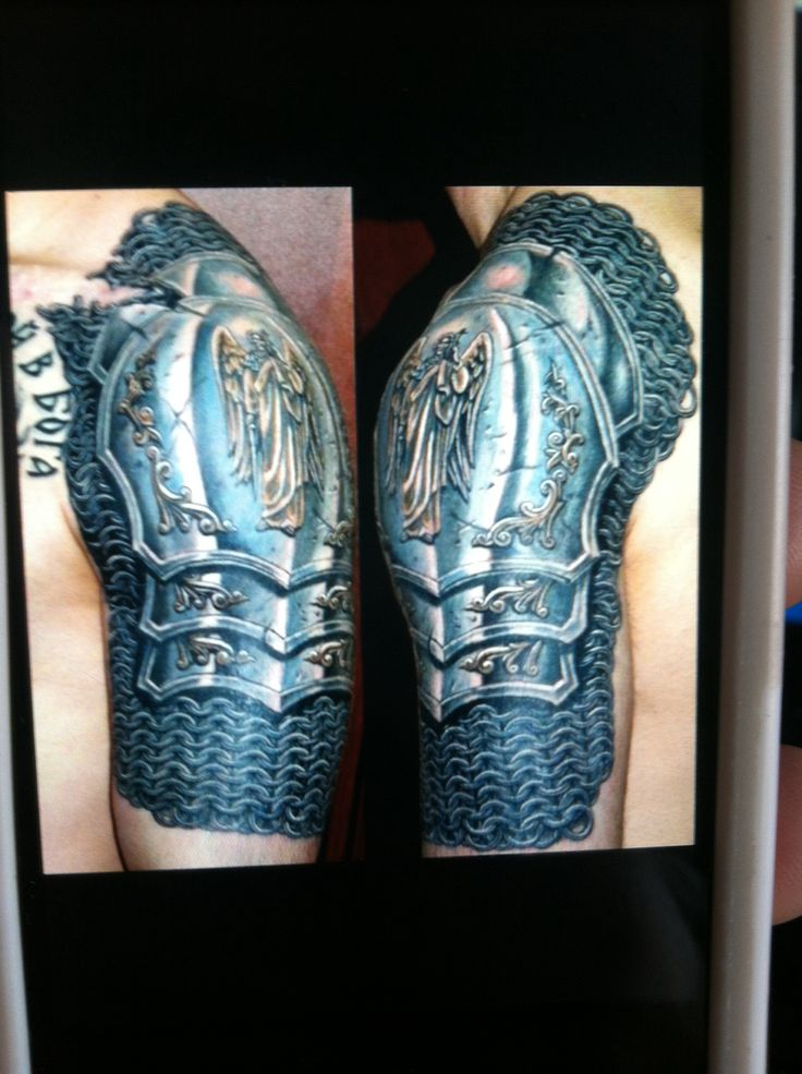 """Armor of God"" tattoo"