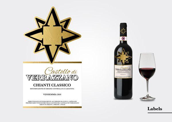 Verrazzano Wine Branding by Pablo de Mello, on Behance