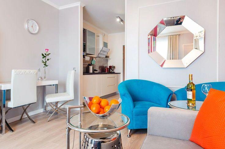 Apartament Vip Glamour typu studio wnętrze dla tych, którzy cenią sobie luksus i dekoracyjność. Zapraszamy do przeglądania galerii zdjęć!