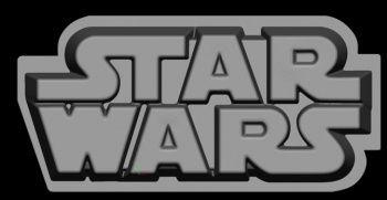 Star Wars logo - molde silicona para horno #StarWars