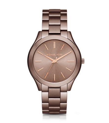 Slim Runway Sable and Rose Gold-Tone Watch | Michael Kors OMG i want !!!!