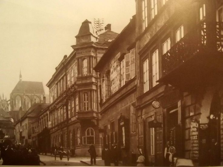 Rubešova ulice J.Kubrt 1910