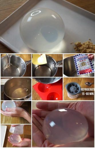How to Make Rain Drop Cake Recipe Mizu Shingen Mochi