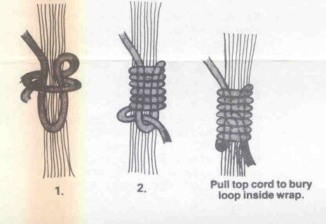 macrame knots | Here are the step-by-step detailed instructions.