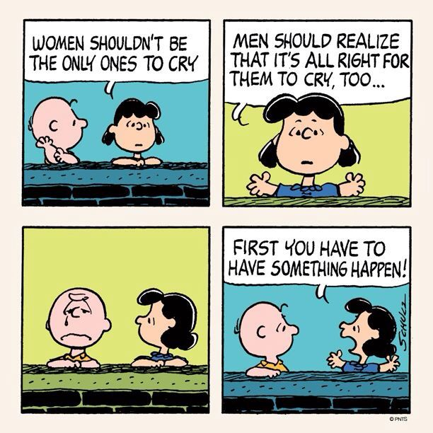lucy. charlie brown.