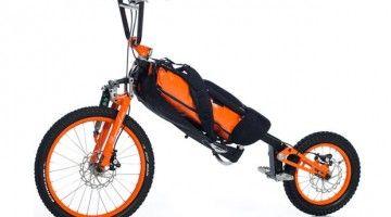 Nueva bicicleta plegable