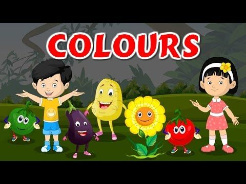 COLORS For Children | Learning Song & Nursery Rhyme | Best Buddies - YouTube