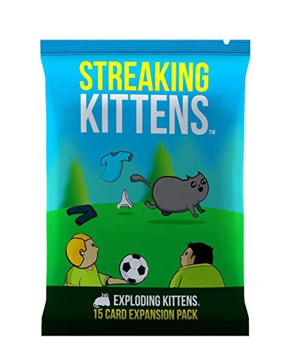 Exploding Kittens Streaking Kittens 15 Card Expansion Pack