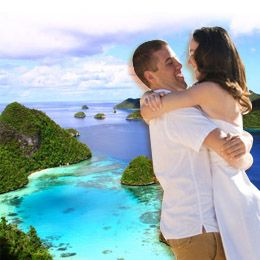 Bulan Madu Raja Ampat. Have a romantic honeymoon with this Raja Ampat Honeymoon Package. Price starting from IDR 18.995.000/Person. For full information and reservation, please contact Ezytravel at 500833 / 021 500833 (from HP) or to find other honeymoon packages, visit our website: http://ezytravel.co.id