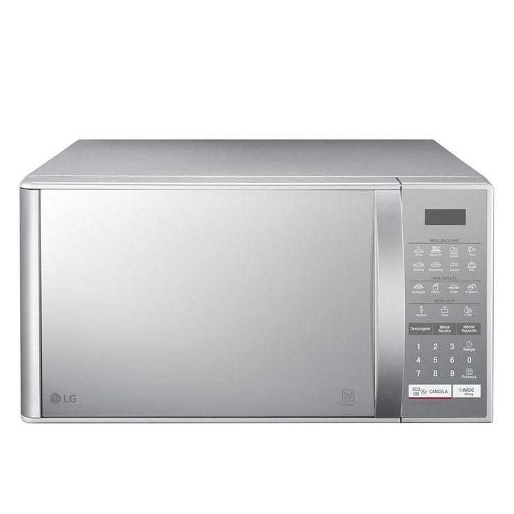 Micro-Ondas LG Easy Clean 23 Litros Espelhado -Eletrodomésticos - Micro-ondas - Walmart.com