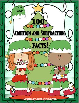 Christmas+Math+Facts!++addition+and+subtraction+Grades+1+-+2+from+Kimberly+Sullivan+on+TeachersNotebook.com+-++(8+pages)++-+Fun+freebie+for+the+holidays+to+review+addition+and+subtraction+facts!+Grades+1+-+2