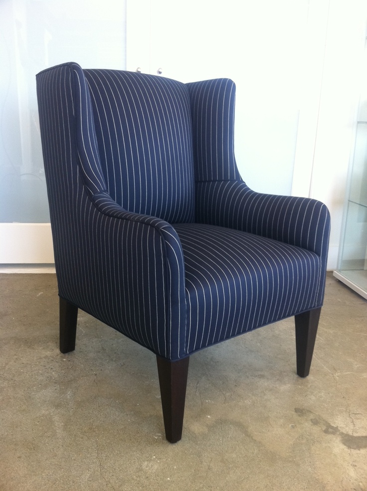 Freshly reupholstered antique armchair by us at Fabulous Furnishings!