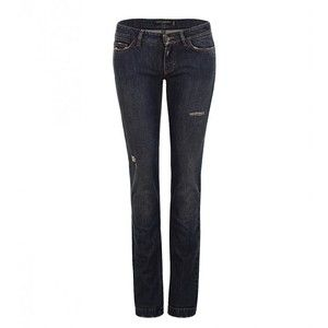 Dolce & Gabbana Dark Blue Cute fit Jeans - find out what cut of jeans will work best for you http://wp.me/s5eVop-jeans