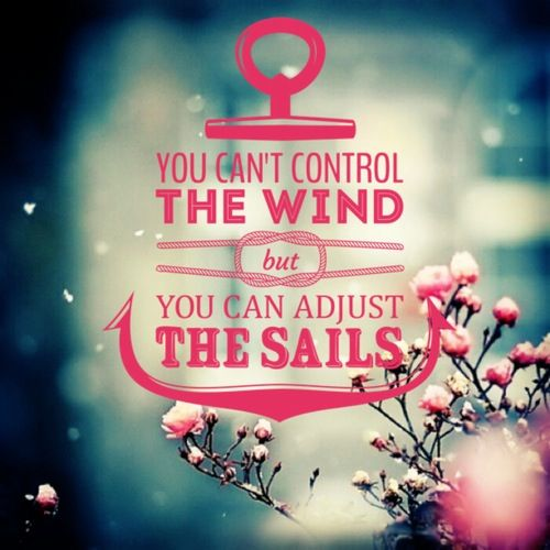 You can adjust the sails / anchor / quote