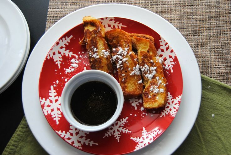 French Toast Sticks with Gingerbread Maple Syrup.   Food   Pinterest ...