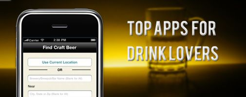 Drink up! – Top apps for drink lovers