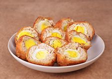 Beignets œufs de caille