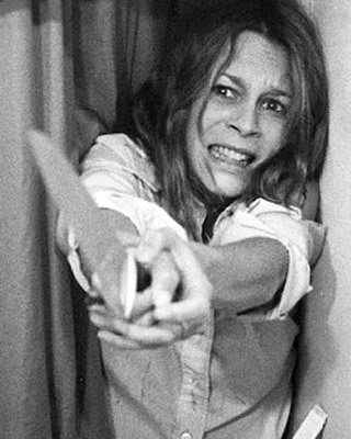 Laurie Strode: The original Final Girl, she fends for herself from boogeyman Michael Myers in it's original film & sequels. (Halloween, 1978, John Carpenter. Portrayed by Jamie Lee Curtis)