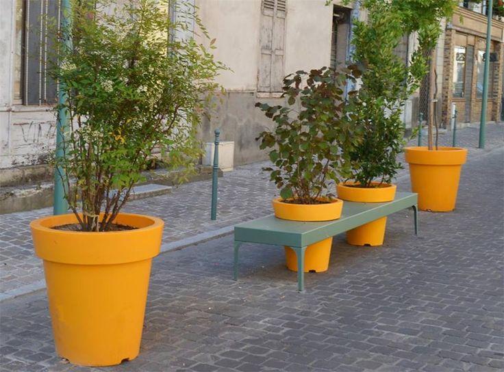 urban flower pots atech I atech-pl.eu