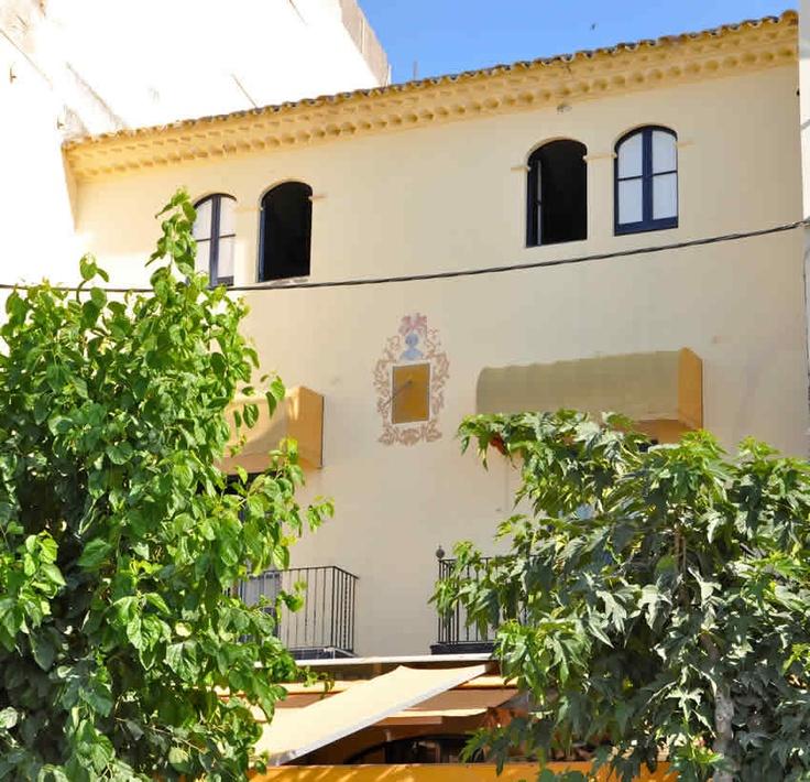 Casa Pilar Parellada, en el Paseo de la Ribera de Sitges