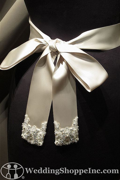 Bridal Belts and Sashes Saison Blanche  BLT003 Bridal Belts and Sashes Image 1