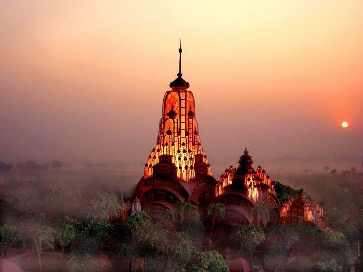 Hindu Temple. East Bengal