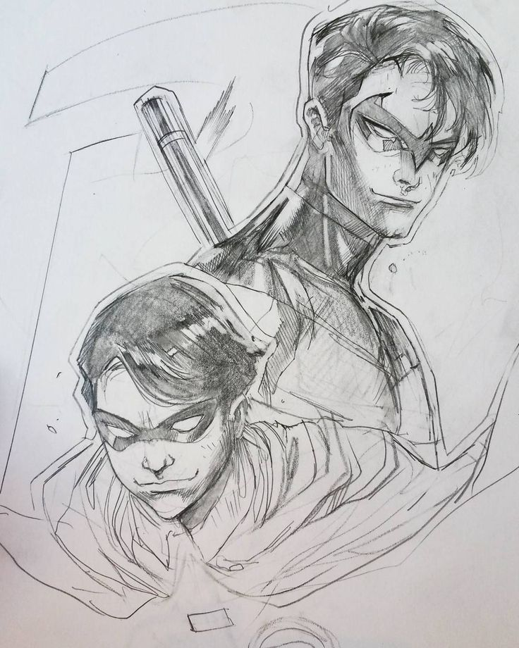 "By Peter Nguyen: ""From #robin to #nightwing , the potential of #dickgrayson"""