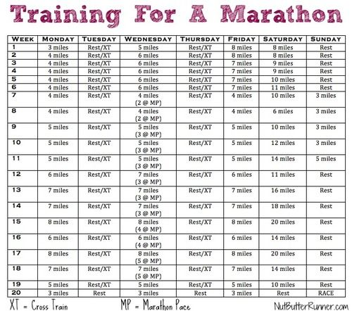 Marathon Training Program  I'm considering this program to prep for a full marathon. Crossing that one off the bucket list in 2014.