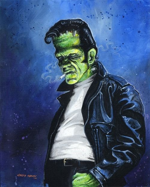 Rockabilly Frankenstein