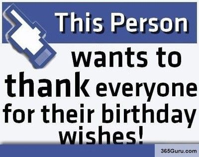 The 25 best Thanks for birthday wishes ideas – Thank You Message for Birthday Greetings on Facebook