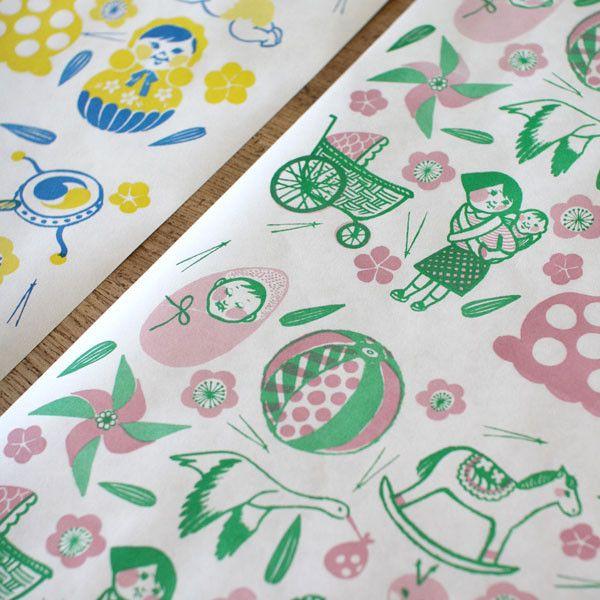 Natsuko Kozue Art Papers {Lullaby} | UGUiSU Online Store