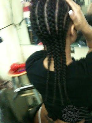 blac chyna real hair