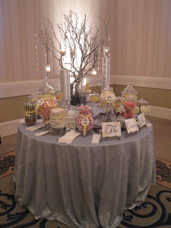Best candy dessert buffets images on pinterest