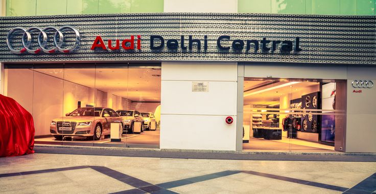 Welcome to the capital of the beauties and the beasts. #Audi #Delhi Central #Showroom. #Cars
