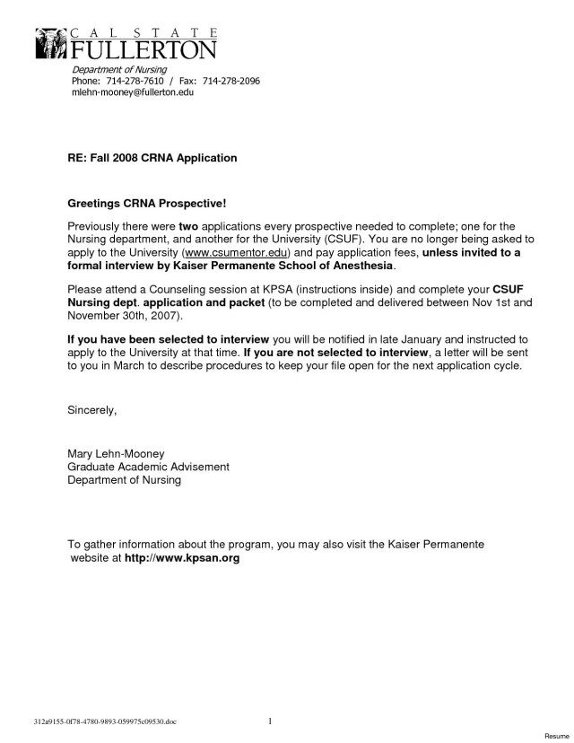 25 Nursing Cover Letter Examples Cover Letter Examples For Job