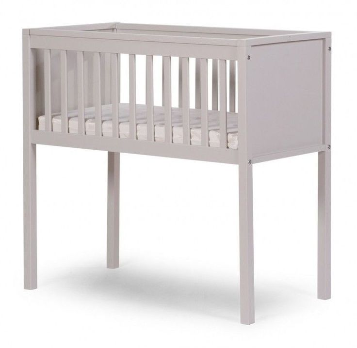 Grey Wooden Baby Crib Newborn Cot Bed Bedroom Boys Girls Bedroom Home Furniture