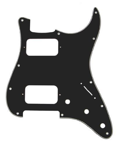 Mighty Mite MM5404US  Retrofit Strat HH B/with B 3Ply Pickguard by Mighty Mite. $10.64. Strat Style Replacement Pick guard for US & Mexican Made Fender Strat