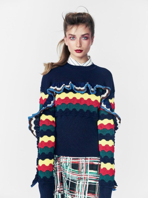 KnitGrandeur: Trend Watch: Ruffled