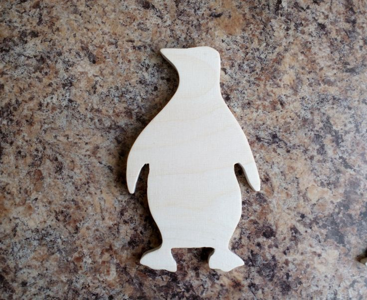 plywood kid toy animal penguin by SoulIdeas on Etsy