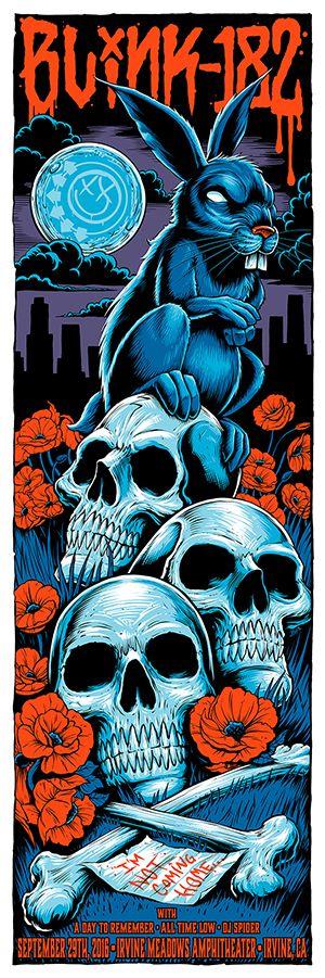 Brandon-Heart-Blink-182-Irvine-Poster-2016-2.jpg (300×901)
